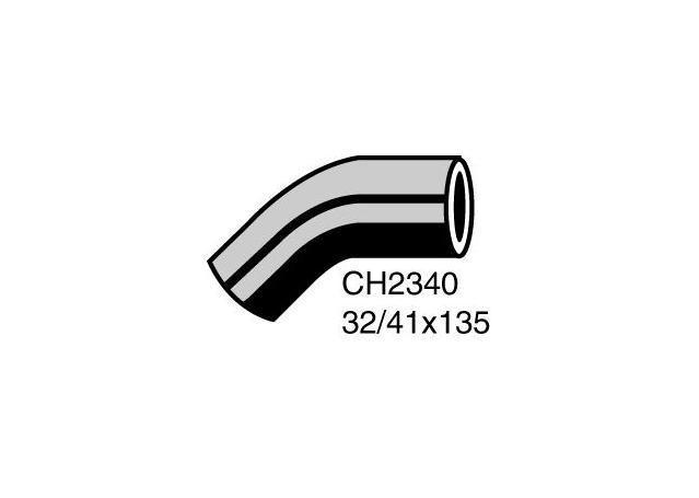 Mackay Radiator Bottom Hose-Pump Side with A//C® CH1351