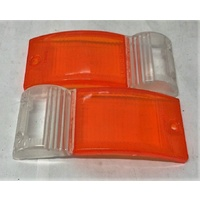 Humber Super Snipe Series III IV V VA Front Turn Signal Indicator Lenses Pair