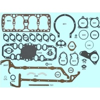 Ford 221 Side Valve 24 Stud Flathead V8 Full Gasket Set 85-90 HP 1938-1947