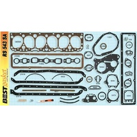 Chevrolet Car Truck GMC Truck 6 Cylinder Full Gasket Set 235 1953-1963 Graphite