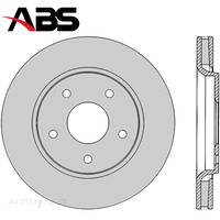 Front Brake Rotor PAIR FOR Chrysler Grand Voyager RT Dodge Journey 08-On DR12642