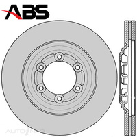 Front Brake Rotor PAIR FOR Holden Colorado RG Isuzu D-Max TFR TFS 12-On DR12909