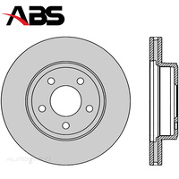 Front Brake Rotor PAIR FOR Ford Falcon Fairlane BA BF FG FGX 03-16 DR504