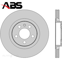Front Brake Rotor PAIR FOR Audi A3 Volkswagen Beetle 9C Golf MK3 4 95-11 DR801