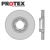 Front Brake Rotor PAIR FOR Ford Transit VF VG 1995-2001 DR829