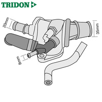 Tridon Thermostat TT1675-190