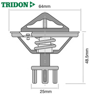 Tridon High Flow Thermostat FOR Nissan Skyline Holden Commodore RB30 TT268-170