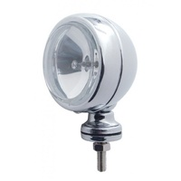 "4"" Off Road Halogen Light - Clear Lens, Shock Absorbing Rim and Mounting"