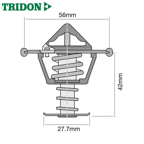 Tridon Thermostat TT299-160 (High Flow)